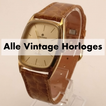 Vintage Heren Horloges - TipTop in orde!