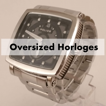 ZGAN - Oversized Heren Horloges - Tiptop in orde