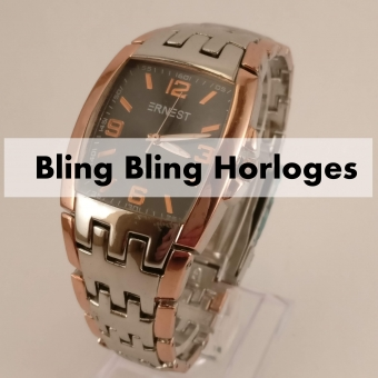 Bling Bling Heren Horloges
