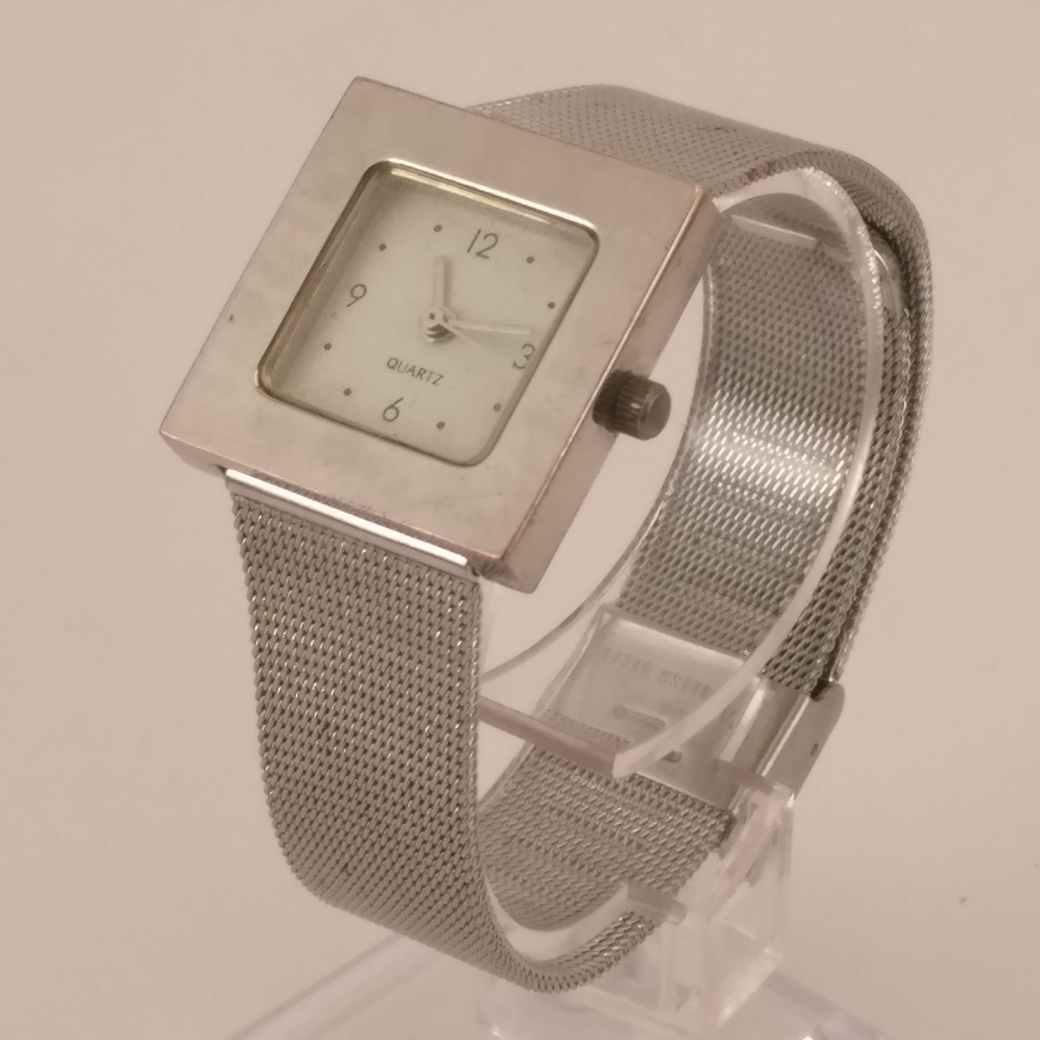 Fonkelnieuw Vierkant Dames Horloge FW-12