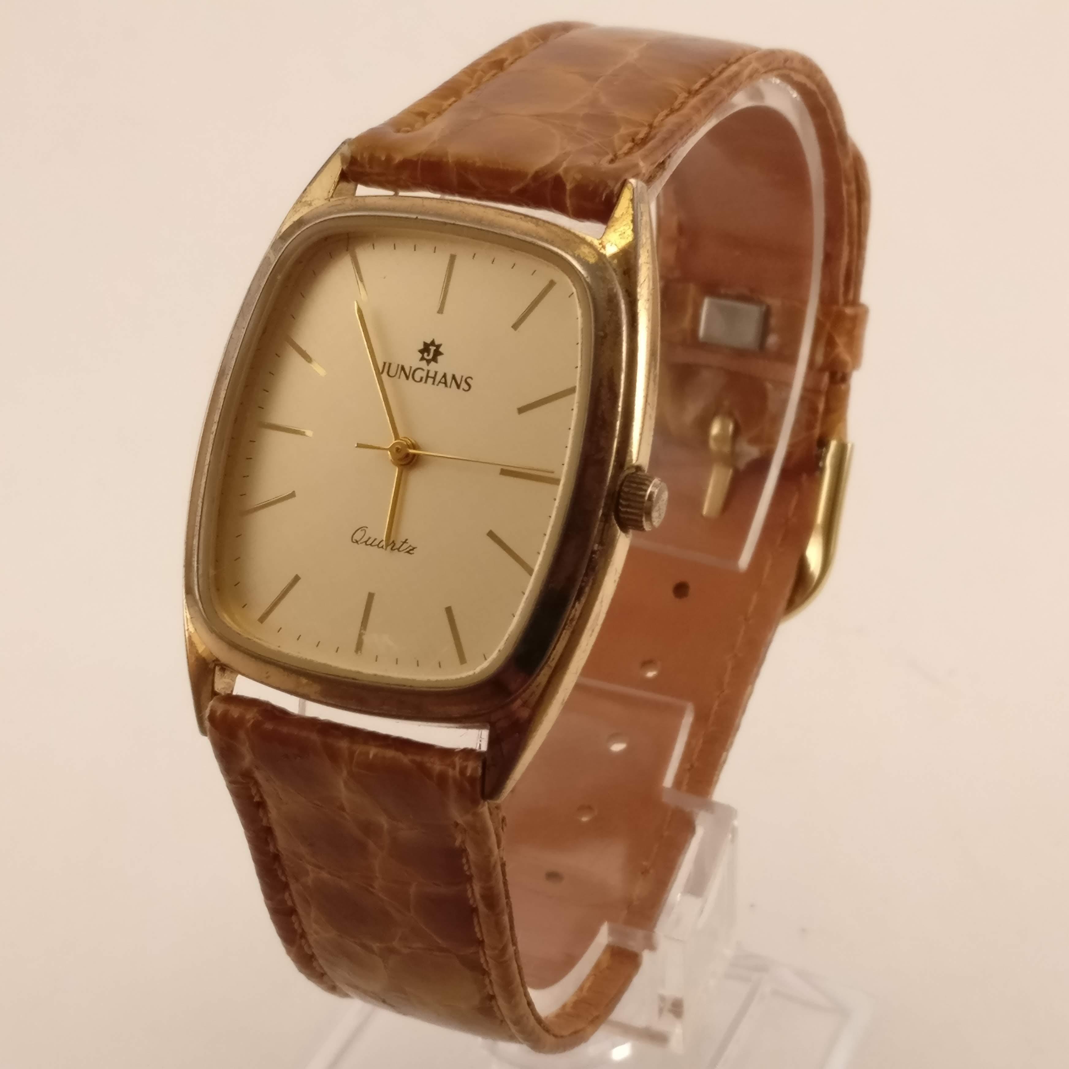 Junghans Vintage Heren Horloge Zeer Dunne Kast