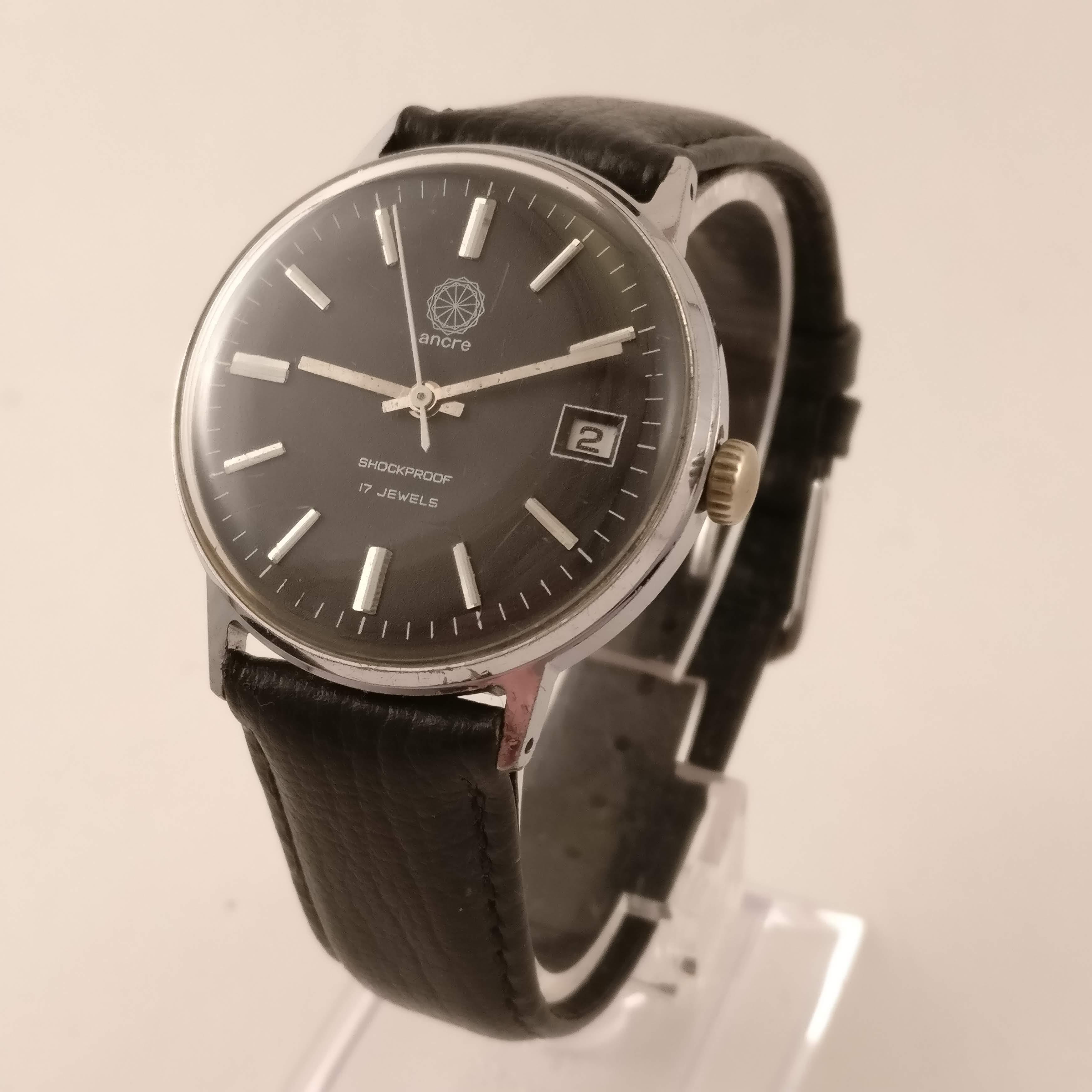 Ancre Vintage Heren Horloge